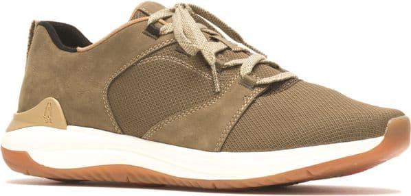 Hush Puppies Felix Lace Mens Shoes Olive